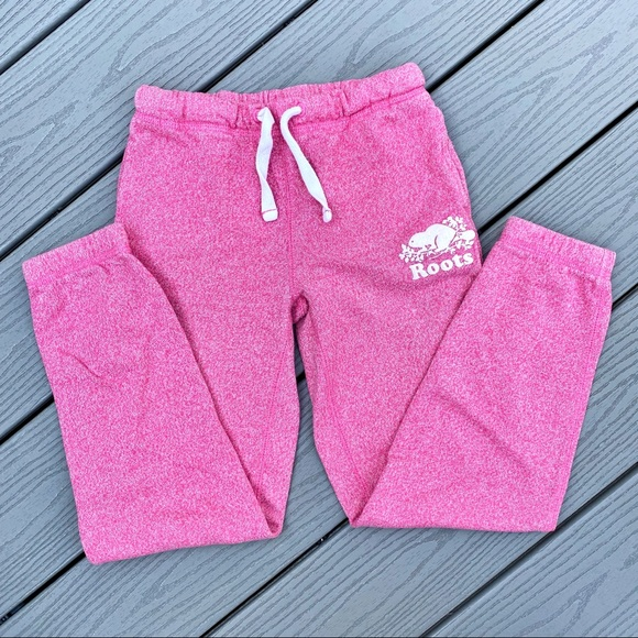 Pink Roots Sweatpants - size 8